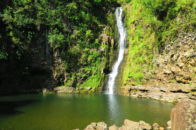 Hipuapua Waterfall Halawa Valley Hike - Molokai Hawaii 2