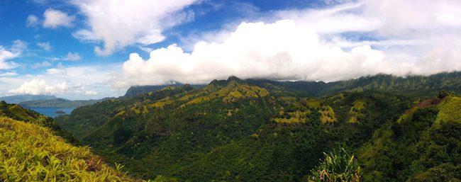 Hiva Oa Marquesas Islands French Polynesia deep valley