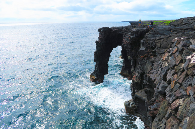 Holei Sea Arch - Hawaii Volcanoes National Park Big Island