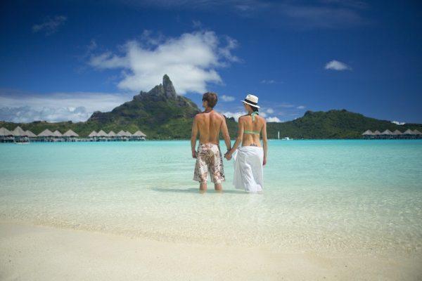Honeymoon in Tahiti French Polynesia - view of bora bora