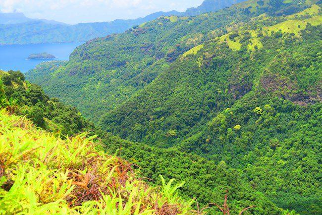 Horseback riding Hiva Oa Marquesas Islands French Polynesia valley