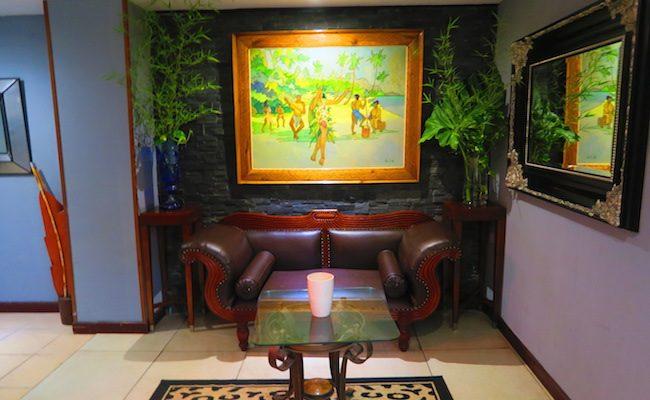 Hotel Sarah Nui Papeete Tahiti French Polynesia Lobby 2