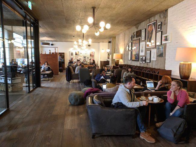 Hoxton Holborn London Hotel - lobby
