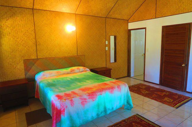Inano Beach Bungalows Aitutaki Cook Islands - bedroom