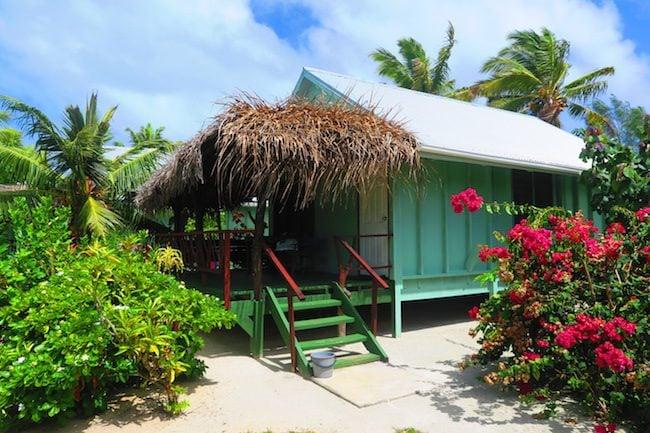 Inano Beach Bungalows Aitutaki Cook Islands - bungalow exterior