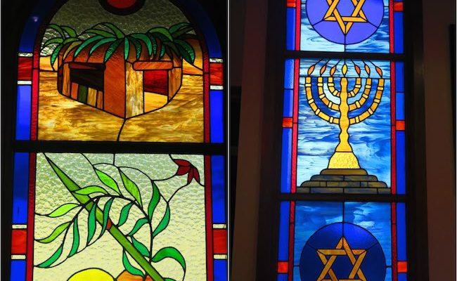 Jewish synagogue Papeete Tahiti French Polynesia - interior