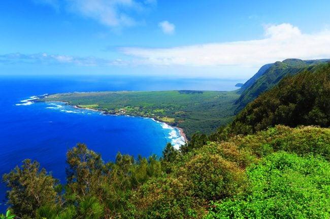 Kalaupapa Peninsula Molokai Hawaii