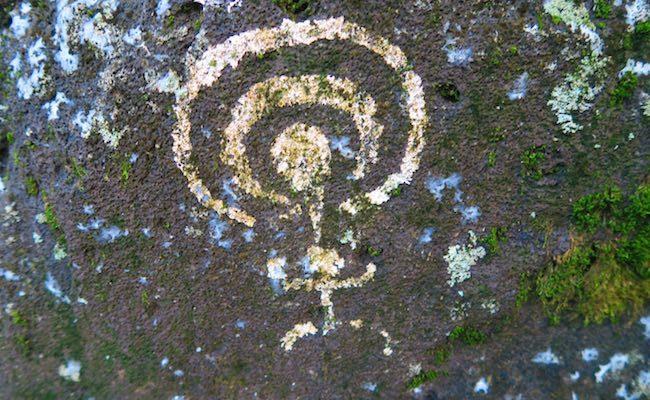 Kamuihei Tahakia Teiipoka archeological sites nuku hiva - petroglyph