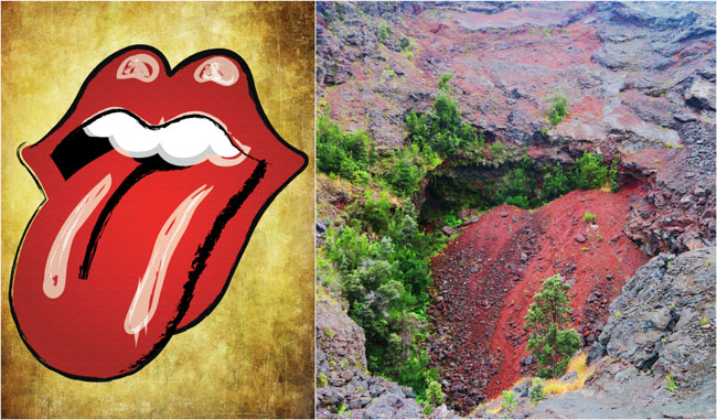 Kilauea Iti Hike - Rolling Stones Rock - Hawaii