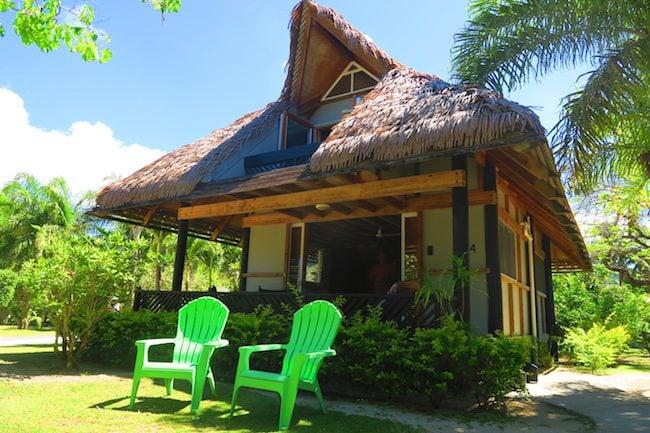 Lagoon Breeze Villas Rarotonga - Polynesian villa exterior