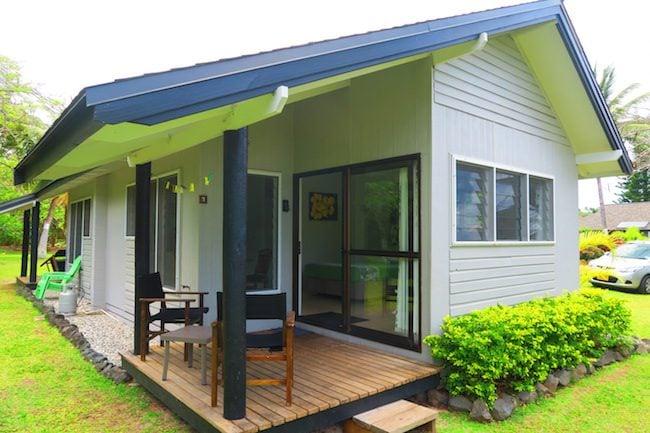 Lagoon Breeze Villas Rarotonga - garden studio exterior