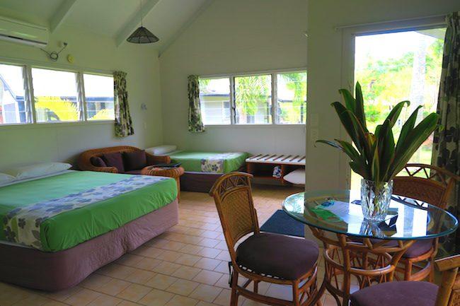 Lagoon Breeze Villas Rarotonga - garden studio