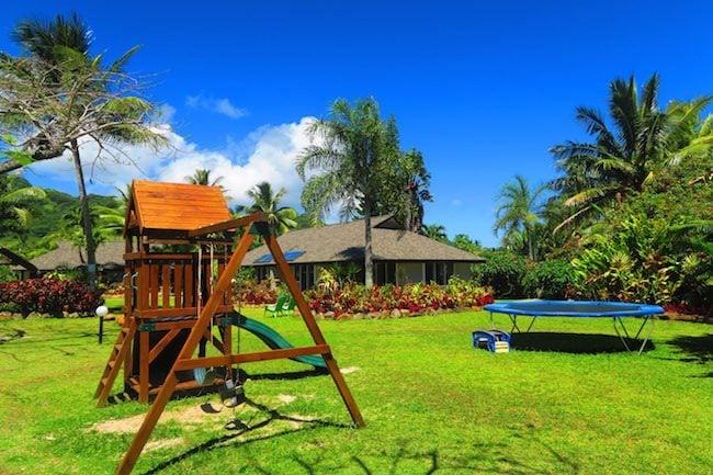 Lagoon Breeze Villas Rarotonga - playground