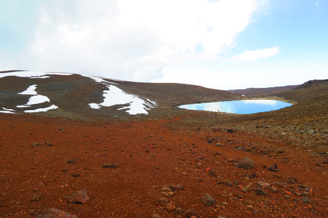 Lake Waiau on Mauna Kea Hike Big Island Hawaii