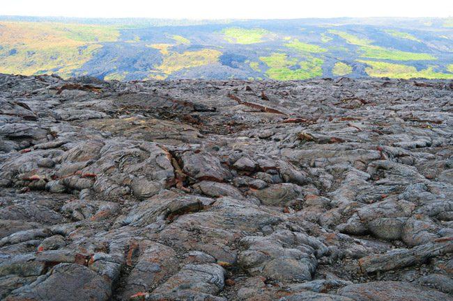 Lava Field - Hawaii Volcanoes National Park Big Island
