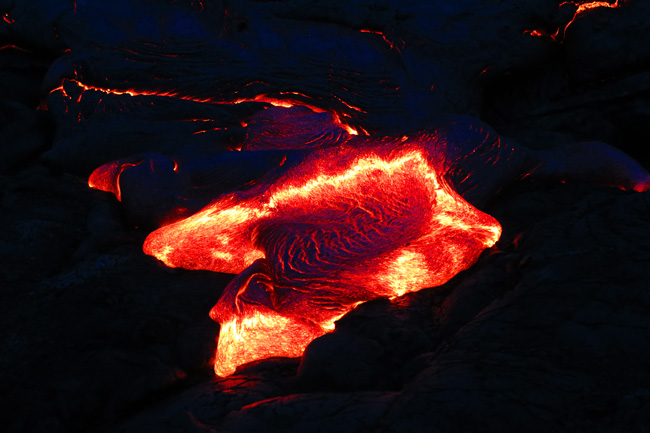 Lava from Kilauea - Hawaii Volcanoes National Park Big Island
