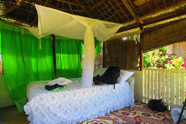 Le Valasi's Beach Fales Samoa - interior