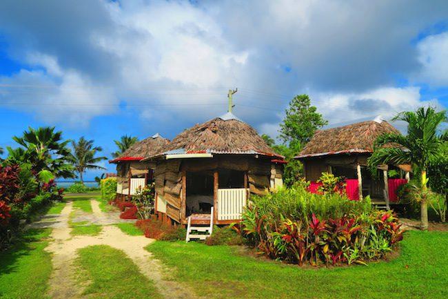 Le Valasi's Beach Fales Samoa - sea view