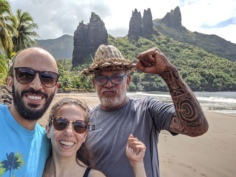 Local guide Nuku Hiva French Polynesia