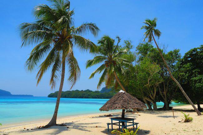 Lonnoc Beach Bungalows Santo Island Vanuatu - Beach