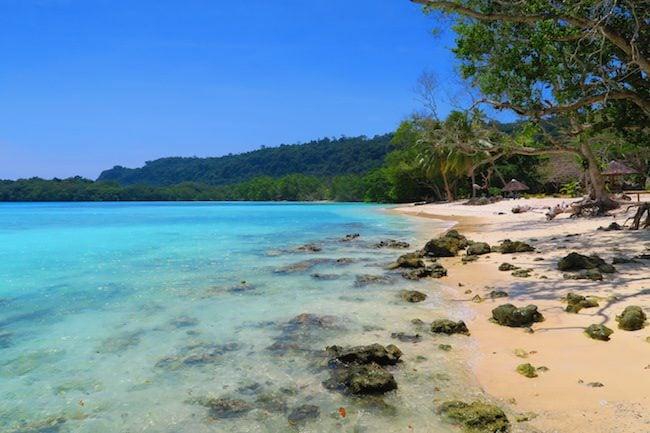 Lonnoc Tropical Beach Santo Island Vanuatu