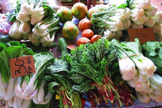 Luganville Food Market Espiritu Santo Vanuatu - Vegetables