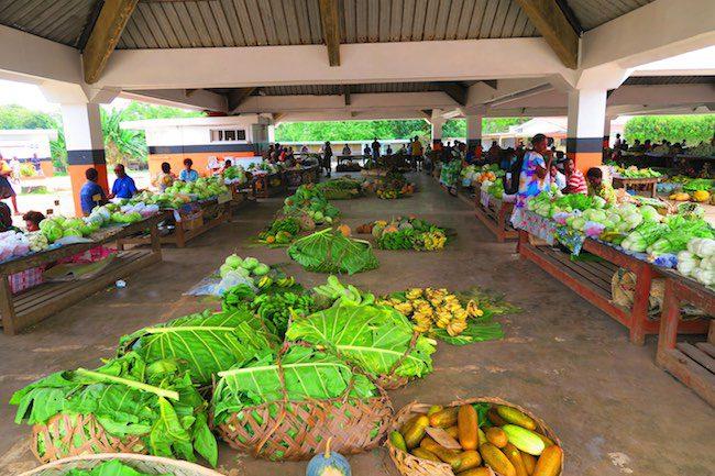 Luganville Food Market Espiritu Santo Vanuatu
