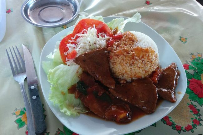 Lunch In Port Vila Central Market - Vanuatu