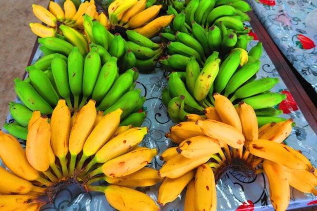 Maketi Fou Apia main market Samoa - bananas