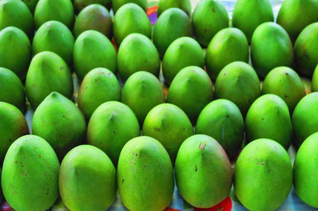 Maketi Fou Apia main market Samoa - mangos