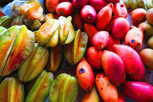 Maketi Fou Apia main market Samoa - star fruit