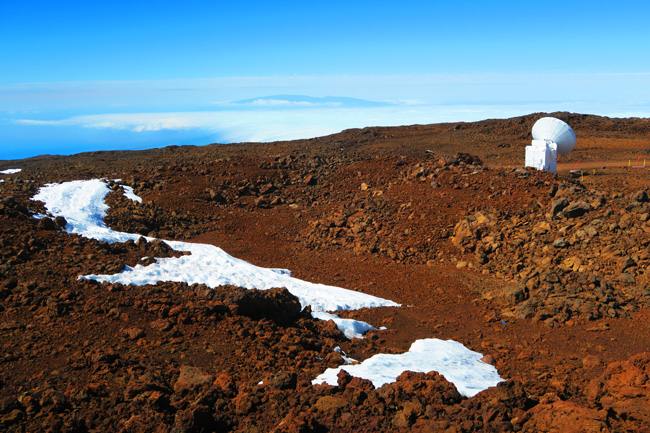 Mauna Kea Hike - summit view - Big Island Hawaii