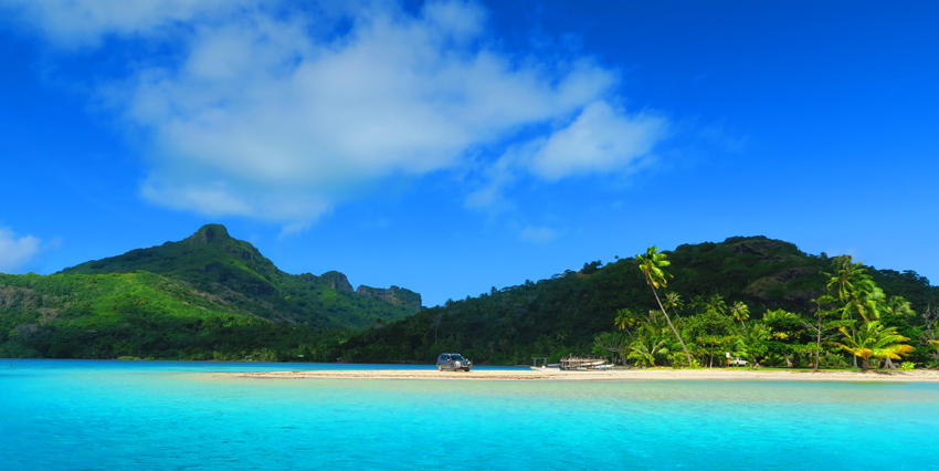 Maupiti - French Polynesia - Tropical Beach
