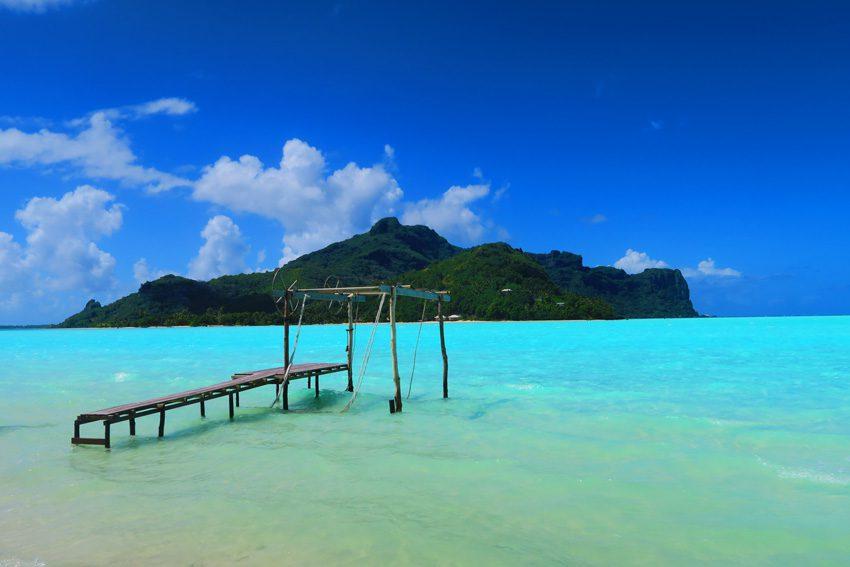 Motu Auira - Maupiti - French Polynesia - Boat Hanger