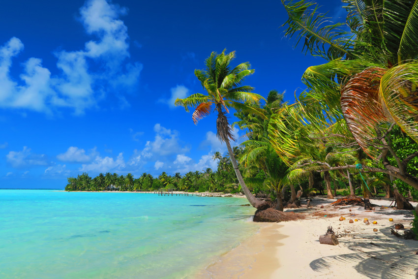 Motu Auira - Maupiti - French Polynesia - Perfect Tropical Beach