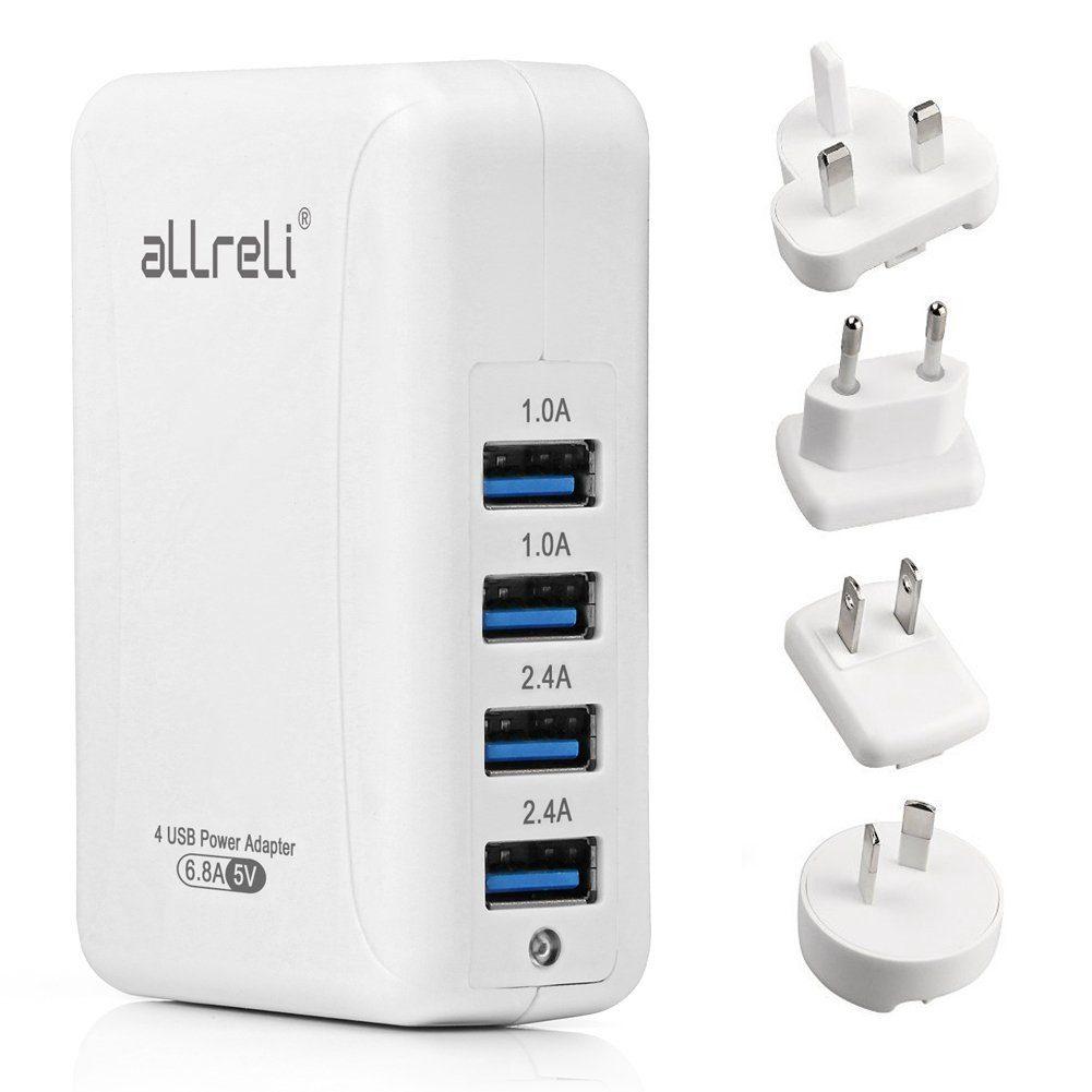 Multi-USB Travel Adapter Image