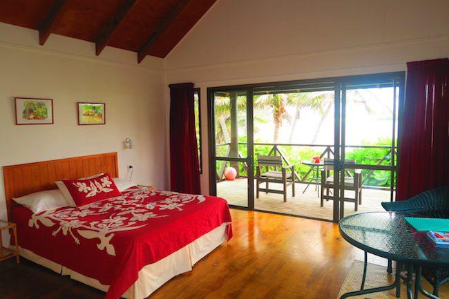 Muri Beach Cottages Rarotonga Cook Islands - bedroom
