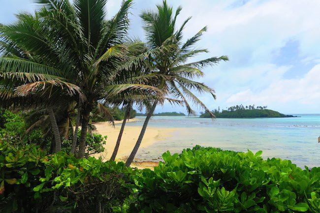 Muri Beach Cottages Rarotonga Cook Islands - lagoon view