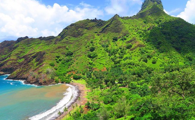 Nahoe remote village hiva oa marquesas islands