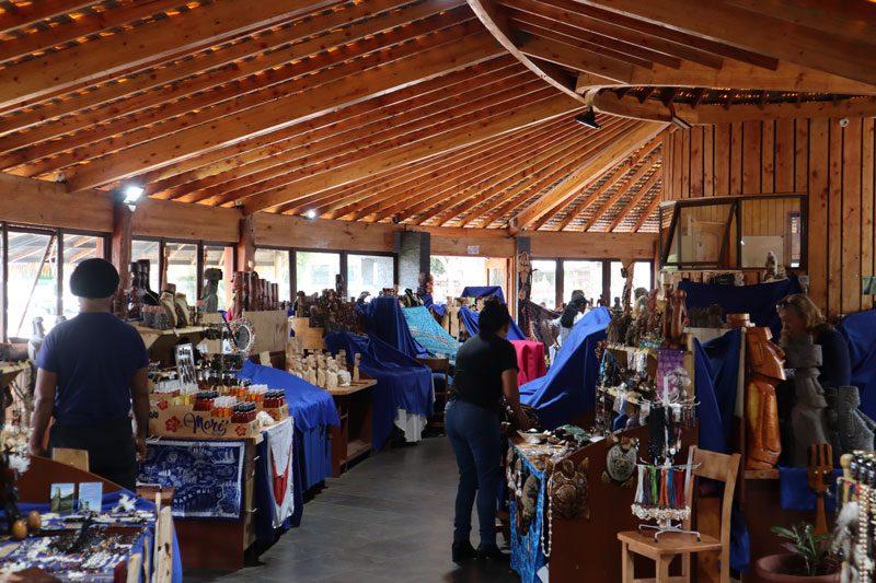 New crafts market Hanga Roa - Easter Island
