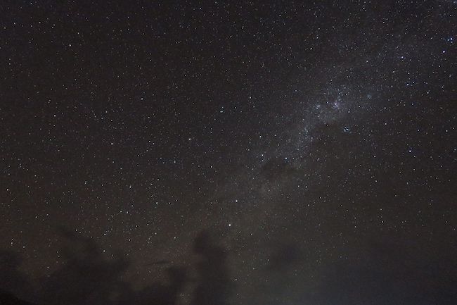 Night sky Milky Way Hiva Oa Marquesas Islands French Polynesia