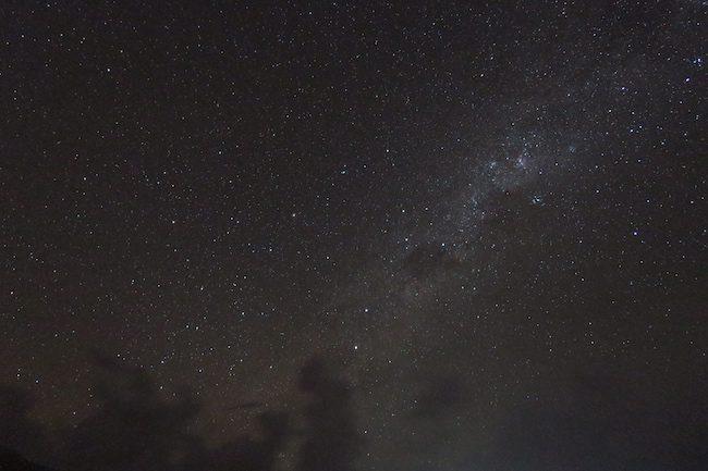Night sky Milky Way Hiva Oa Marquesas Islands French Polynesia