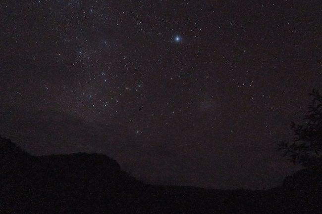 Night sky Nuku Hiva Marquesas Islands French Polynesia