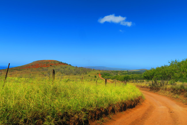 Offroad Driving in central Molokai - Hawaii