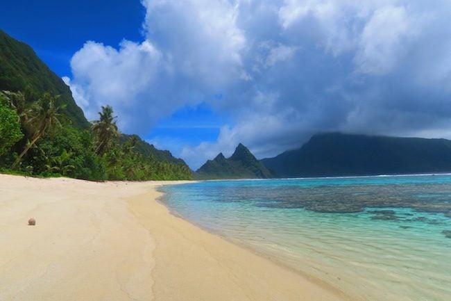 Ofu Tropical Beach American Samoa 3