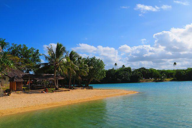 Oyster Island Resort Espiritu Santo Vanuatu - Beach