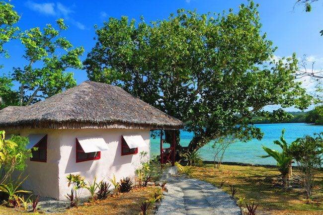 Oyster Island Resort Espiritu Santo Vanuatu - Bungalows