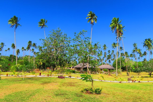 Oyster Island Resort Espiritu Santo Vanuatu - Grounds