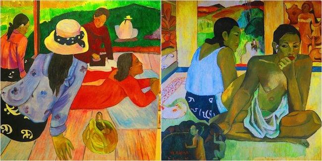 Paul Gauguin Museum Hiva Oa Marquesas Islands French Polynesia painting