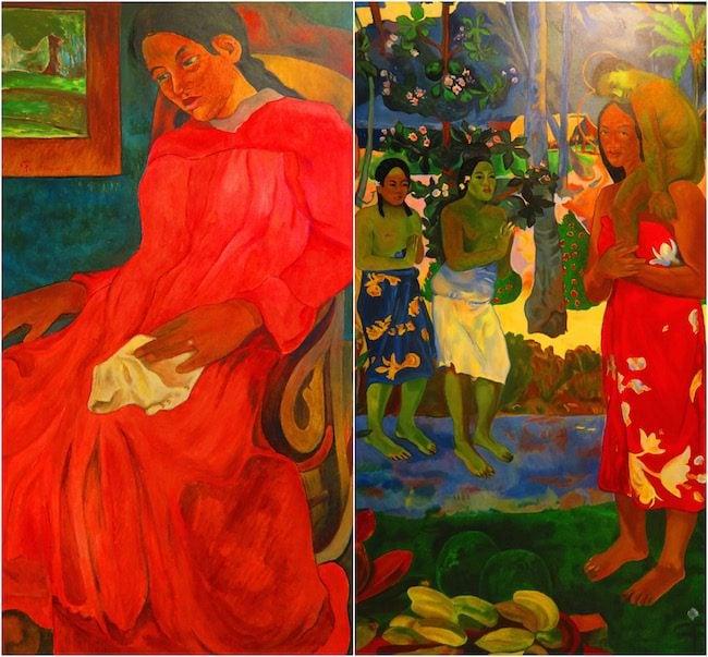 Paul Gauguin Museum Hiva Oa Marquesas Islands French Polynesia paintings